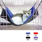 Reversible Cat Kitten Hammock Warm / Radiator Bed Mat Animal Hanging Cage S/ L