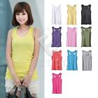 Fashion Women Summer Tank Top  Racerback Sleeveless Vest Cami Candy Colors