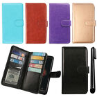 For Motorola Droid Mini XT1030 Flip Magnetic Card Holder Wallet Cover Case + Pen