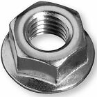M8 Hex Flange Nuts High Tensile Steel Non-Serrated Zinc Plated