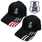 We Got Your Back Blue Stripe Cap