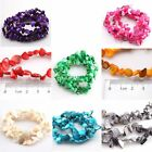 1/6Strings Colorful Irregular Shape Charms Shell Beads Necklace 80cm Retro New