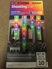 Lot 4 Boxes 10 LED Icicle Lights Shooting Star Christmas Lightshow Multicolor