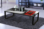 New Designs Modern Glass Coffee Tables With Newyork, Car, London Design on Tops