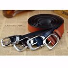 Fashion Men's Luxury Casual Vintage Leather Belt Strap Pin Buckle Waistband #JP