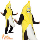 Adult Banana Flasher Costume Funny Stag Novelty Fancy Dress Outfit New