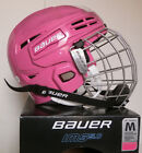Bauer IMS 5.0 PINK Hockey Helmet with Cage