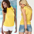 New Sexy Women's Lady Summer Vest Top Sleeveless Blouse Casual Tank Tops T Shirt