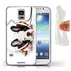 Gel/TPU Case Back Cover for Samsung Galaxy S5/SV / Funny Animals