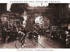 TOUR DE FRANCE BLACK & WHITE PHOTO poster print on Paper or Canvas Giclee