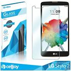 Premium Tempered Glass 9H .33mm Oleophobic Screen Protector For LG Smartphone