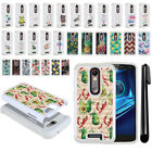 For Motorola Droid Turbo 2 Kinzie XT1585/ X Force Bling HYBRID Case Cover + Pen