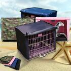 """1Pc S-X-Large 18""""-36"""" Pet Dog Crate Cage Kennel Cover Fence Windproof 4 Color"""