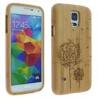 Natural Wood Bamboo Case Protect Cover for Samsung Galaxy S7/S6/S5/S4/Note 5 4