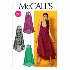 McCalls 6954 Easy Racer Back Summer Dress XS - Plus Size Sewing Pattern M6954