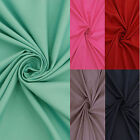 60 Inch Wide Micro Polyester Solid Craft Sewing Fabric By The Yard