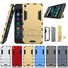 Heavy Duty Hard Hybrid Case Shockproof Kickstand Cover For Sony Xperia E5