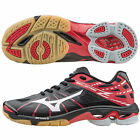 MIZUNO Wave Lightning Z MID Volleyball Shoes WHITExBLACK/RED (Choose Size)