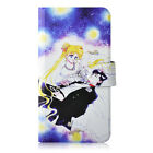 Sailor Moon Crystal PU Leather Flip Case Cover For LG Google #33
