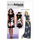 Butterick 5456 Fast & Easy Maggy London Shift Maxi Dress Sewing Pattern B5456