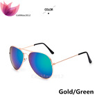 Vintage Retro Women Men Glasses Aviator Mirror Lens Sunglasses Fashion US seller