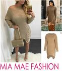 WOMENS LADIES LONGSLEEVE KNIT SWEATER JUMPER DRESS AUTUMN 2016 FASHION