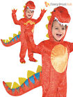 Kids Dinosaur Costume Godzilla T-Rex Jurassic Park Book Week Boys Fancy Dress