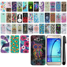 For Samsung Galaxy On5 G550 G500 PATTERN HARD Back Case Phone Cover + Pen