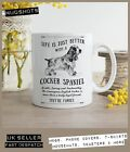 Cocker Spaniel Dog Mug ~ Perfect Gift can be personalised ~ Vintage Style
