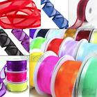 **BUY 1 GET 1 FREE**   25Metre Reels of  Satin Edge Organza Wedding Ribbon