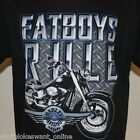 Harley Davidson Fatboys Rule T-Shirt, no back print