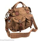 womens Kakadu Bag Canvas tobacco shoulder removeable strap CC option insert