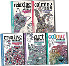 Art Colour Creative Calming and Relaxing therapy Adult Colouring  Books