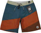 Billabong Slice Lo Tides Boardshorts Burnt Orange