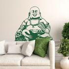 Buddha Vinyl Wall Decal - fits most interior walls, living rooms and more K647