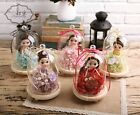 NEW Preserved Flowers Fresh Rose Dried Flowers Dolls Wedding Party Home Decor
