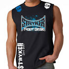 Stryker Sleeveless Muscle T Shirt  MMA UFC BJJ NHB WITH FREE Tapout Sticker INC