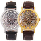 Fashion Classic Business Stainless Steel Hollow Quartz Wrist Watch