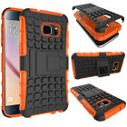 Shockproof Hybrid Rubber Armor Hard Rugged Stand Case Cover For Samsung Galaxy