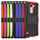 Hybrid Stand Rubber Rugged Spiderman Cover Case For LG stylus 2  LS775 K520K