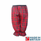 LADIES VICTORIAN BLOOMERS Tartan STEAMPUNK Edwardian Gothic Scottish UK