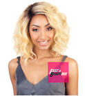 BS206 - ISIS(Mane Concept) Brown Sugar Human Hair Style Mix Soft Lace Front Wig