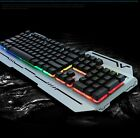 New Arrival Cheap 7 Backlight Color Suspended Keycap USB Wired gaming Keyboard