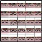 1 Pair Hand Made Long Natural Soft False Eyelashes eye Lashes Make Up 110-161