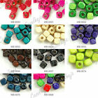 240pcs Loose Cube 6x6mm Wood Wooden Spacer Beads Charms Jewelry Findings