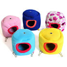 Cute Pet House Hamster Rabbit Rat House Soft Fleece Small Animal Hanging Beds