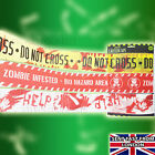 12 METERS HALLOWEEN 3x Caution Tape Decoration KEEP OUT DO NOT ENTER zOMBi ZoNE