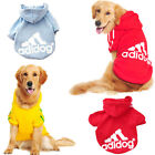 Small Large Pet Dog Cat Jacket Coat Clothes Hoodie Sweater Costumes S 9XL