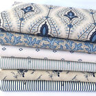 MODA Grand Traverse bay blue & cream 100% premium cotton fabrics