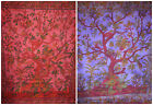 Tree of Life Bedsheet Bedspread Wall Hanging Birds Hippy Boho Double Large